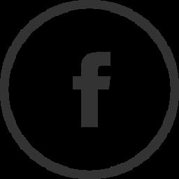facebook in black